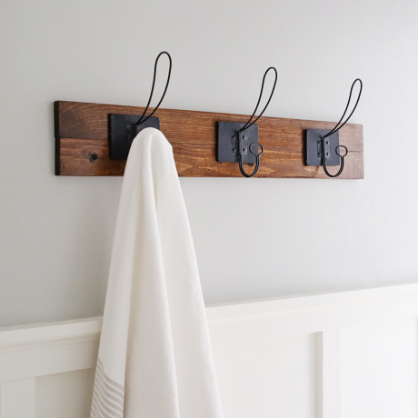 Farmhouse Style Diy Towel Rack Angela Marie Made