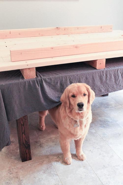 Farm Table Makeover