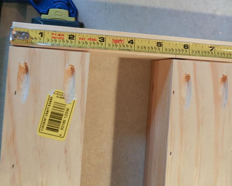 DIY Wall Mount Spice Rack