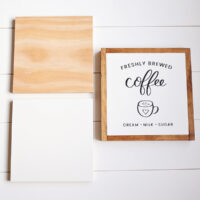 How to Paint DIY Wood Signs