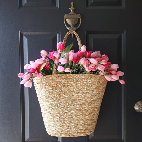 tulip wreath DIY