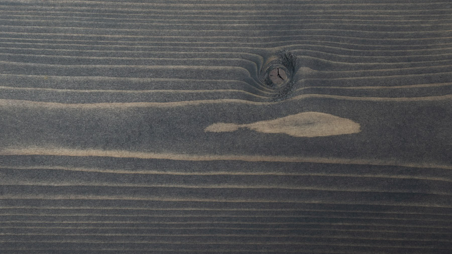 carbon grey wood stain sample