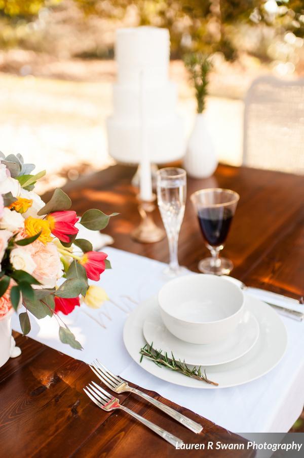 Wedding Farm Table