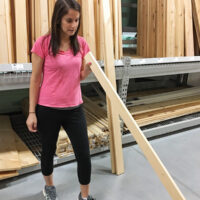How to check a board for bowing when picking out lumber