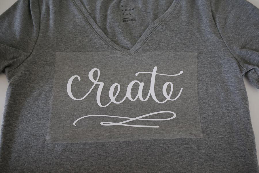 how to use heat transfer vinyl and get design set up on t shirt