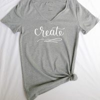 How to Use Heat Transfer Vinyl & Free Printable!