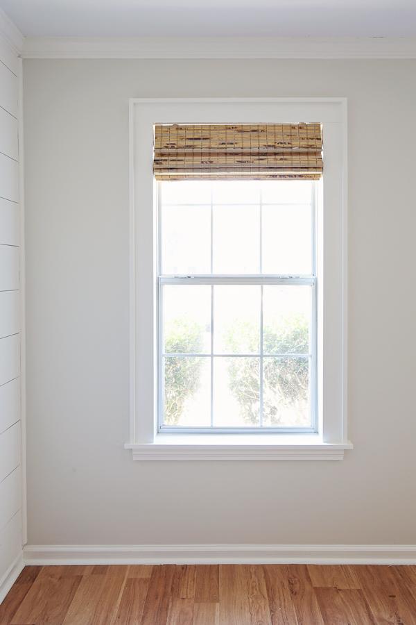 how to trim a window