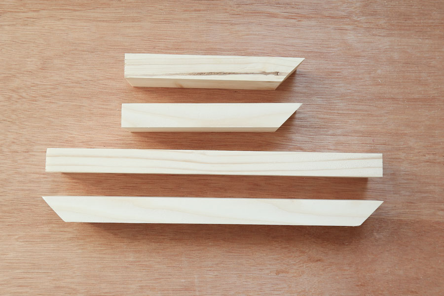 planter boox wood pieces cuts to size