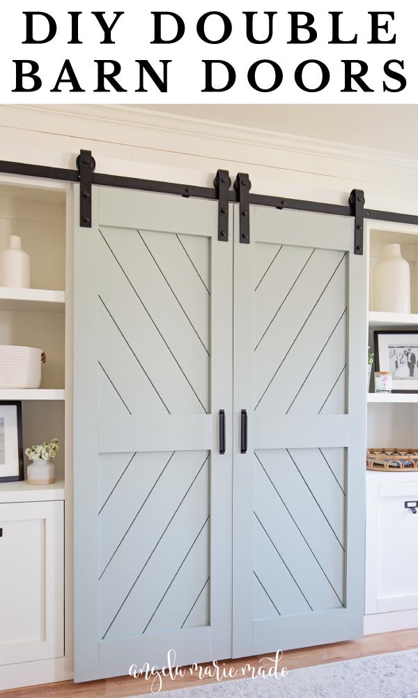 DIY Double Barn Door pin