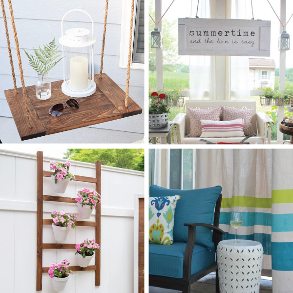 screened in porch decor ideas on a budget