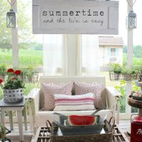 Summertime Screen Porch