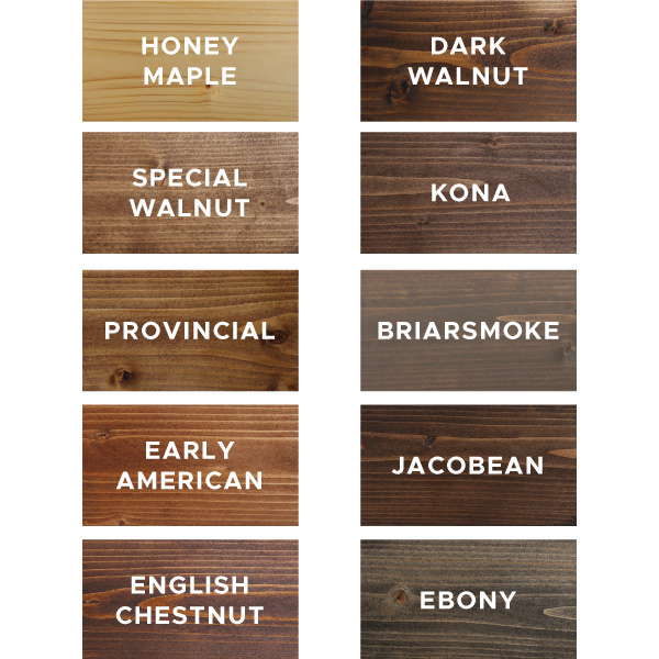 10 Favorite Wood Stain Colors Angela Marie Made