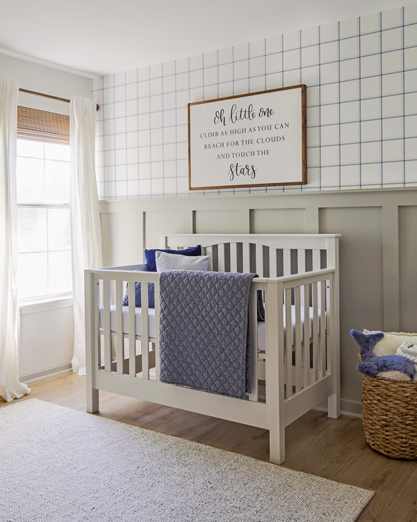 Blue And Gray Nursery Reveal Angela Marie Made