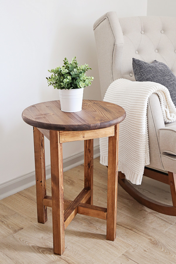 Diy End Table Angela Marie Made