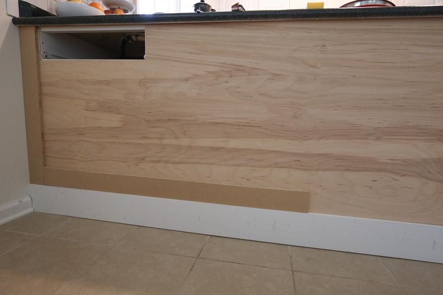 attach bottom boards using MDF