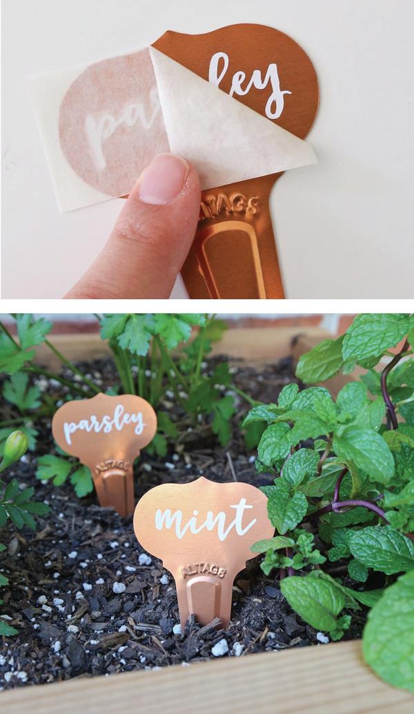 DIY garden markers pin