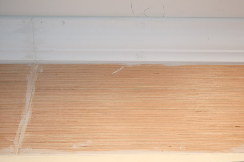 How to Enclose the Space Above Kitchen Cabinets - Angela ...