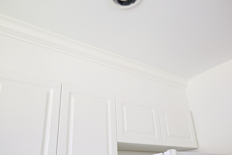 How to Enclose Space Above Kitchen Cabinets