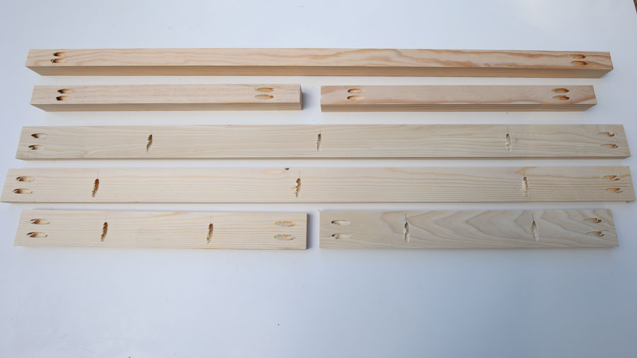 Add pocket holes to lumber with kreg jig