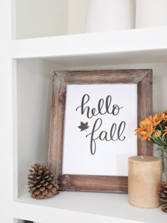 hello fall free fall printable