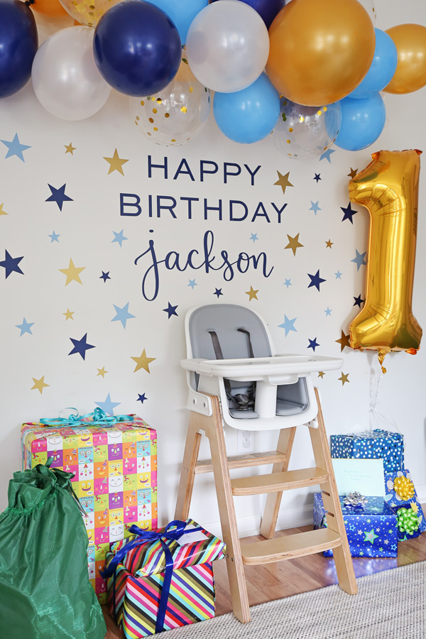 twinkle twinkle little star 1st birthday party decor