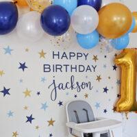 twinkle twinkle little star 1st birthday party decor
