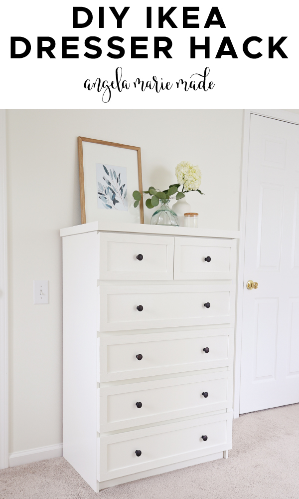 IKEA dresser hack pin