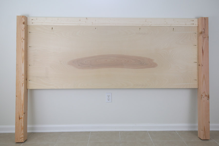 assembling headboard together