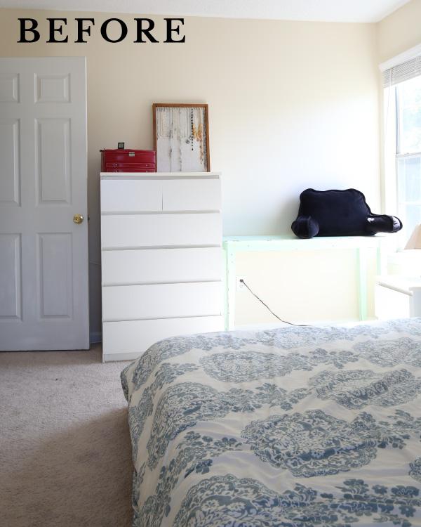 before bedroom makeover