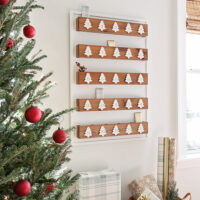 diy advent calendar wood