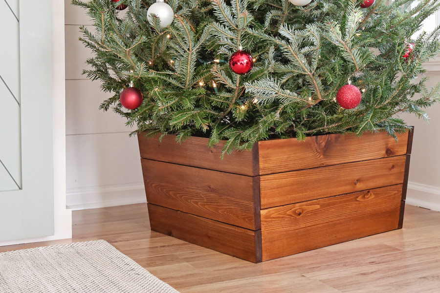 wood diy christmas tree stand