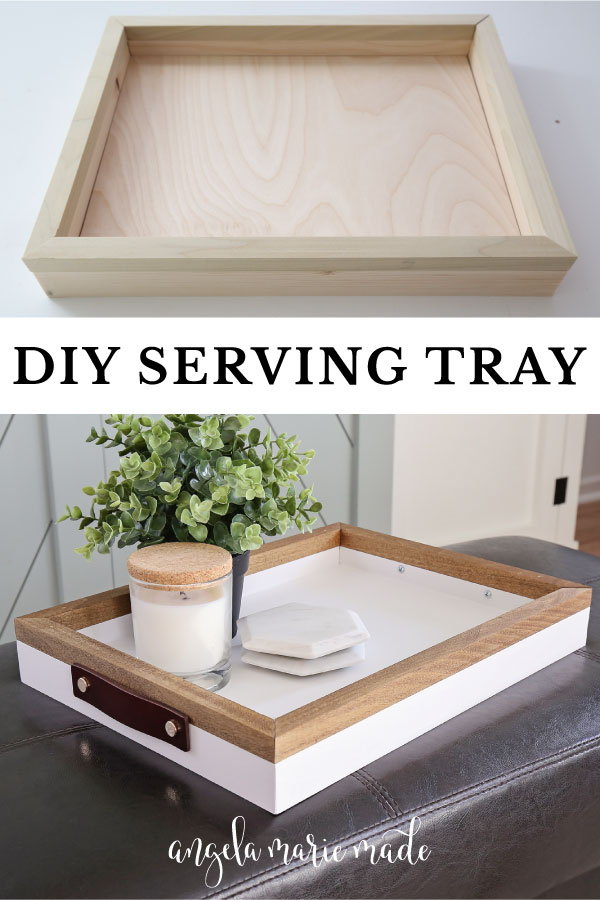 diy serving tray finished and unfinished