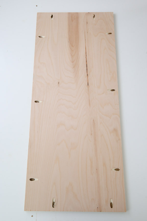 pocket holes in lumber for toy box lid