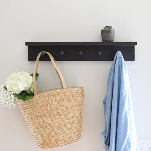 DIY shaker peg rail