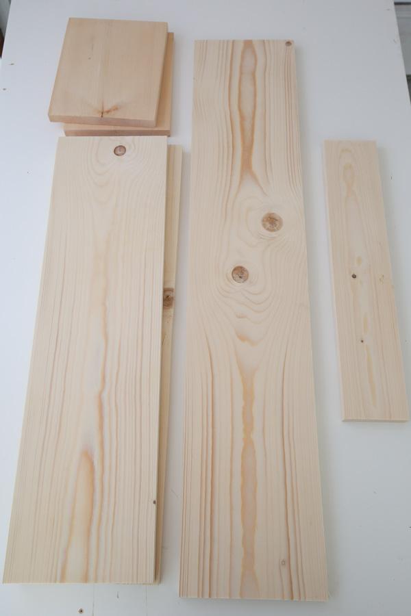 dog bed cut lumber