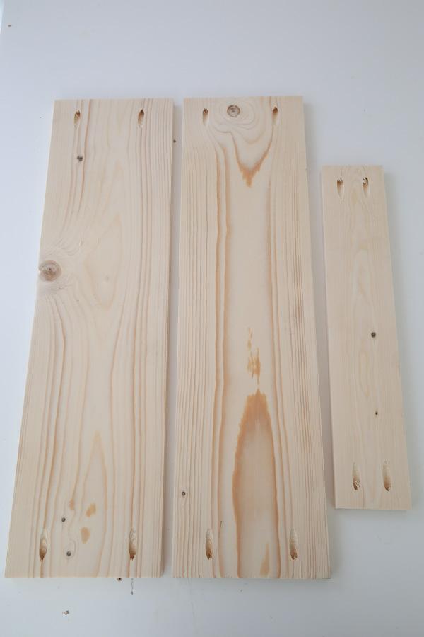 add pocket holes to lumber