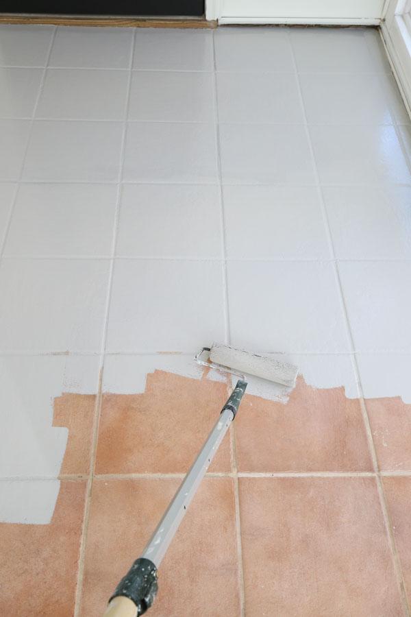 painting tile floors with rustoleum floor tile paint