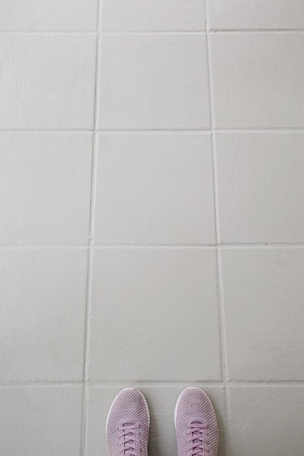gray floor tile paint for painting ceramic tile floor