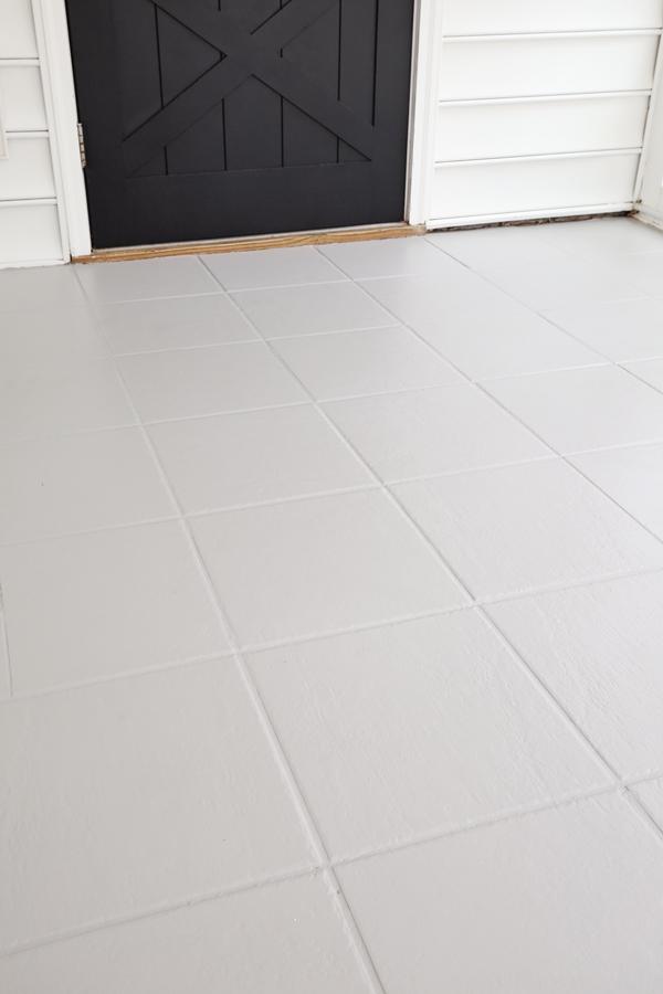 painting tile floors gray with rustoleum floor tile paint
