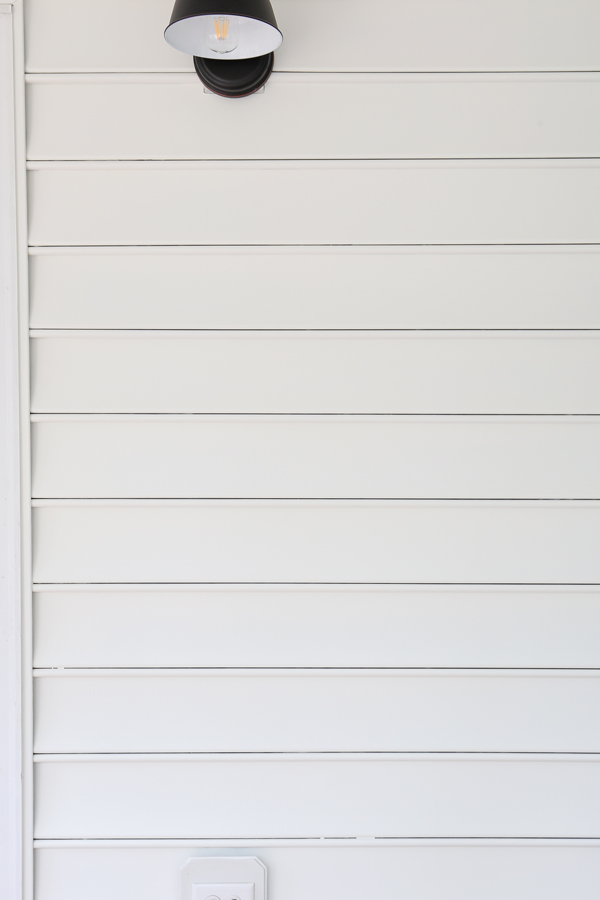 how to paint vinyl siding white