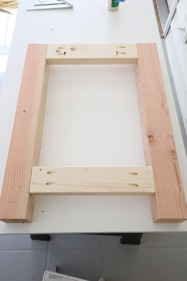 one side frame built