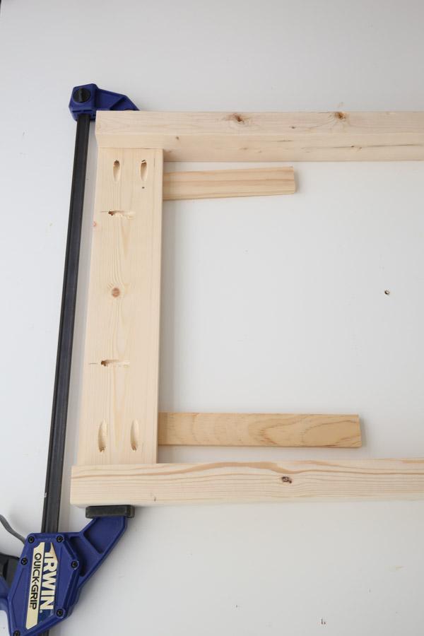 build desk frame sides