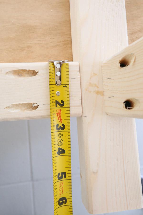 marking back frame support