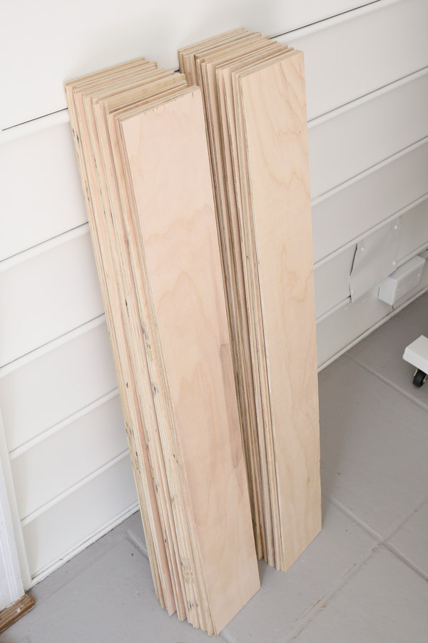 plywood vertical shiplap boards