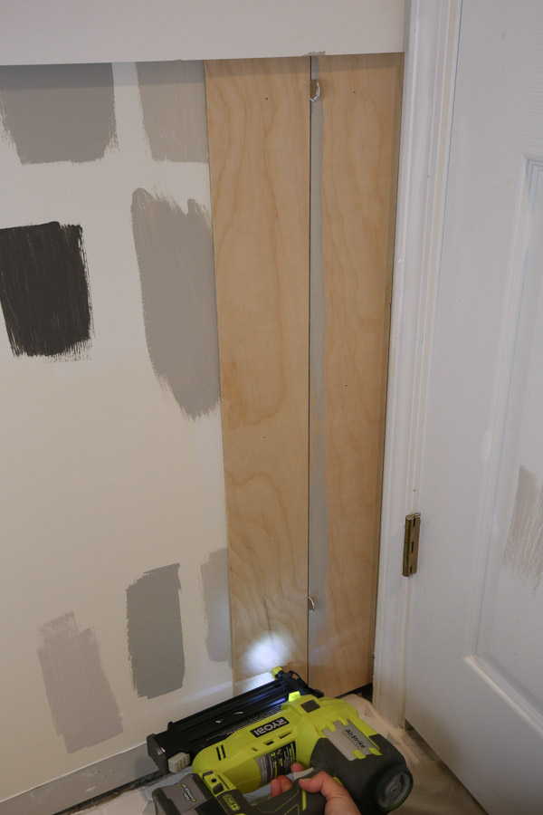 how to install vertical shiplap with plywood