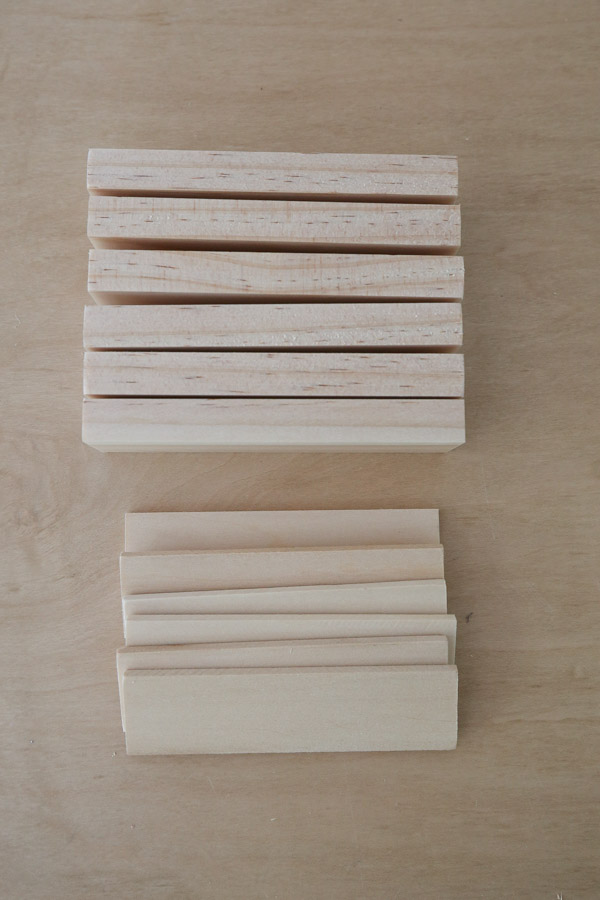 wood cut to size for plant markers
