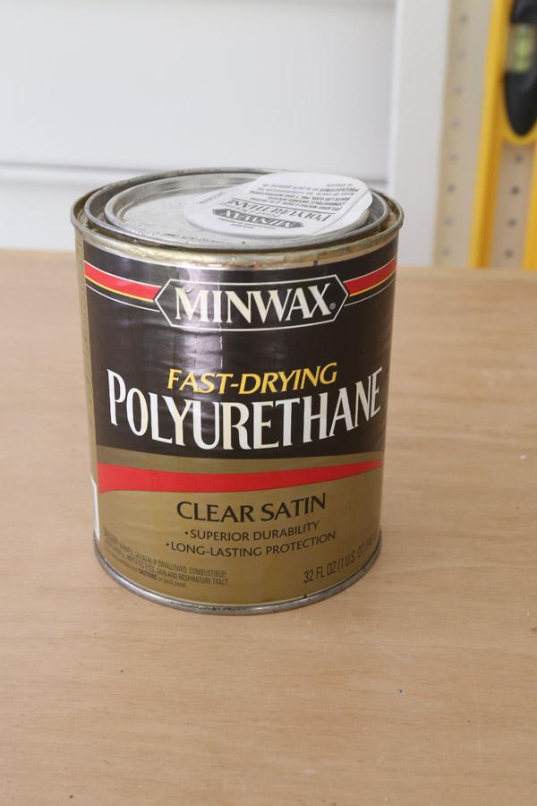 can of minwax oil based polyurethane