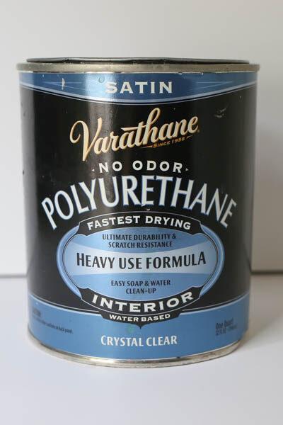 varathane water based polyurethane